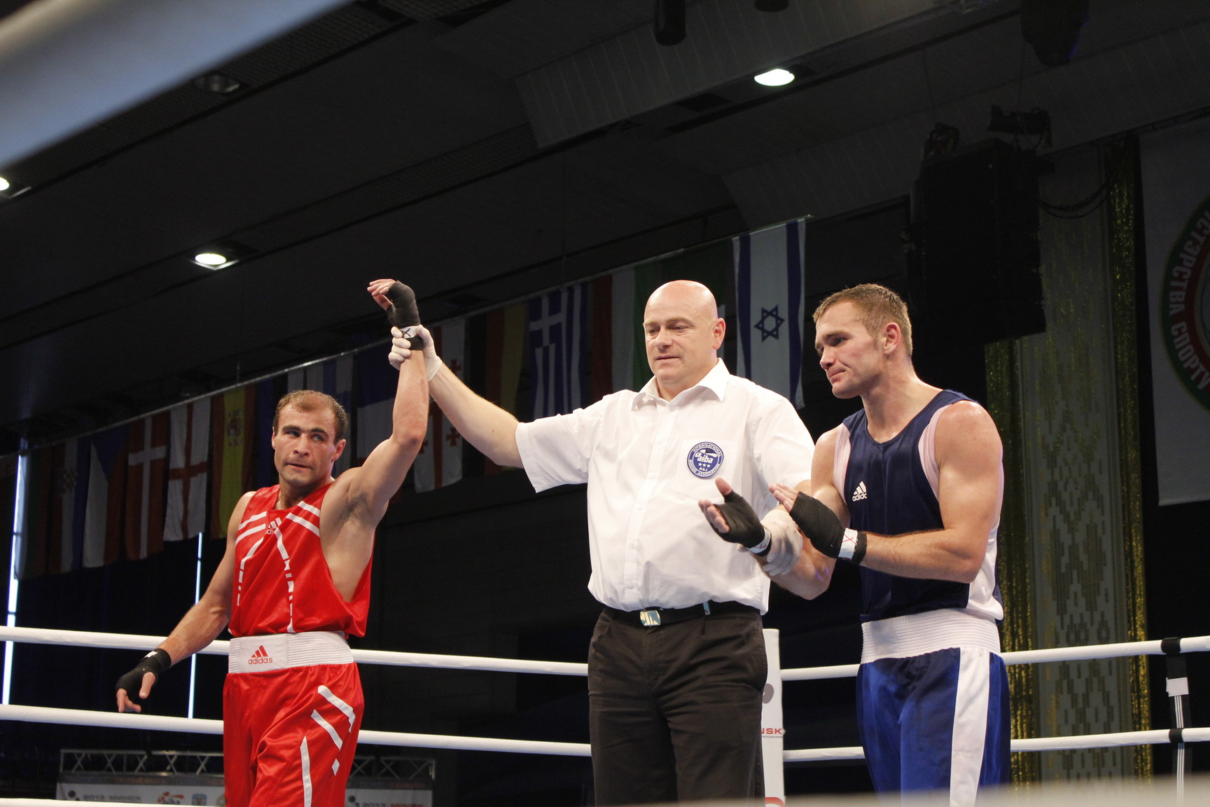 Nikita Ivanov - Russian boxer, European champion in 2013 in the category of 81 kg