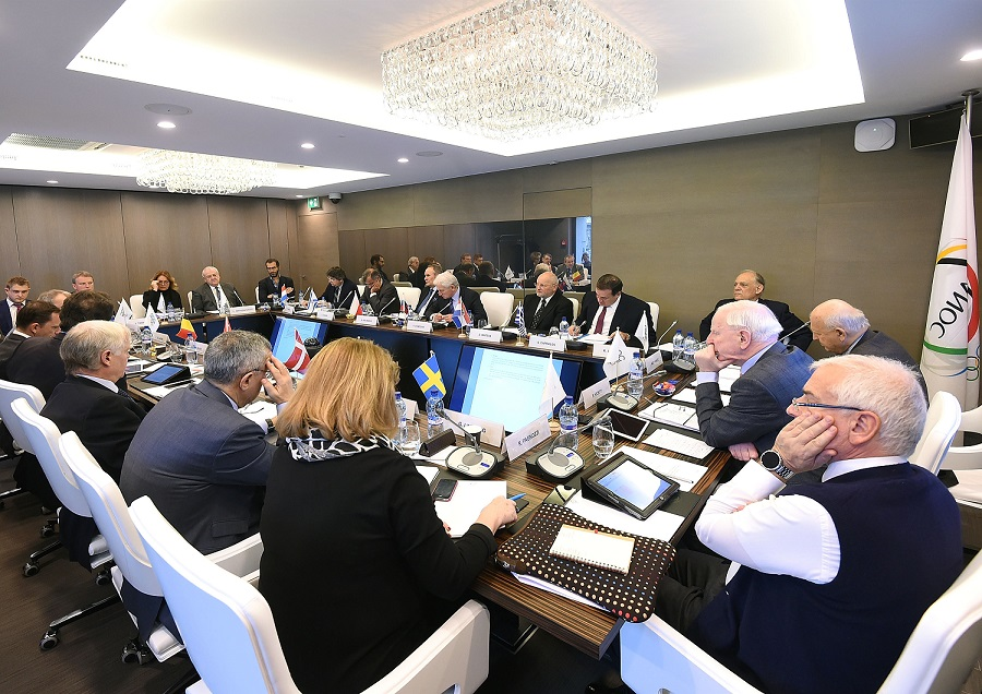 #Baku2015 – HICKEY PLEASED WITH OLYMPIC COLLABORATION AT FIRST EOC MEETING OF 2015