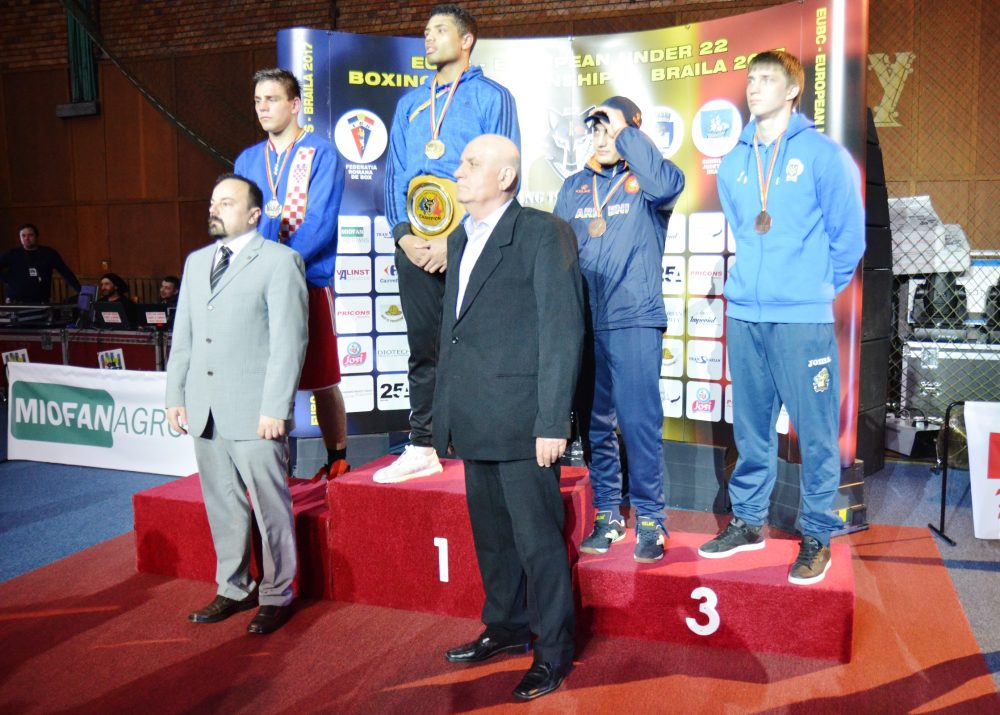 Eight countries achieved gold medals in the EUBC European U22 Championships