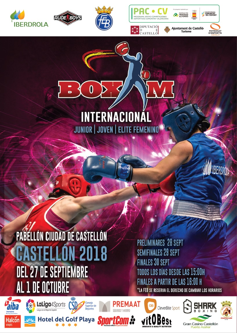 Day 3 Live Streaming – International Female Boxing ...